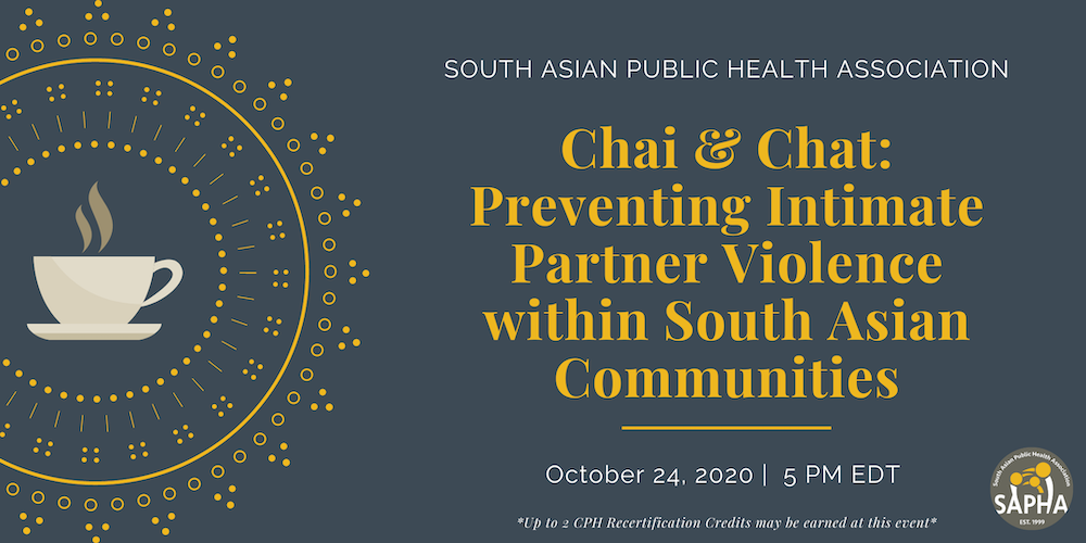 Chai & Chat: Preventing Intimate Partner Violence within South Asian Communities