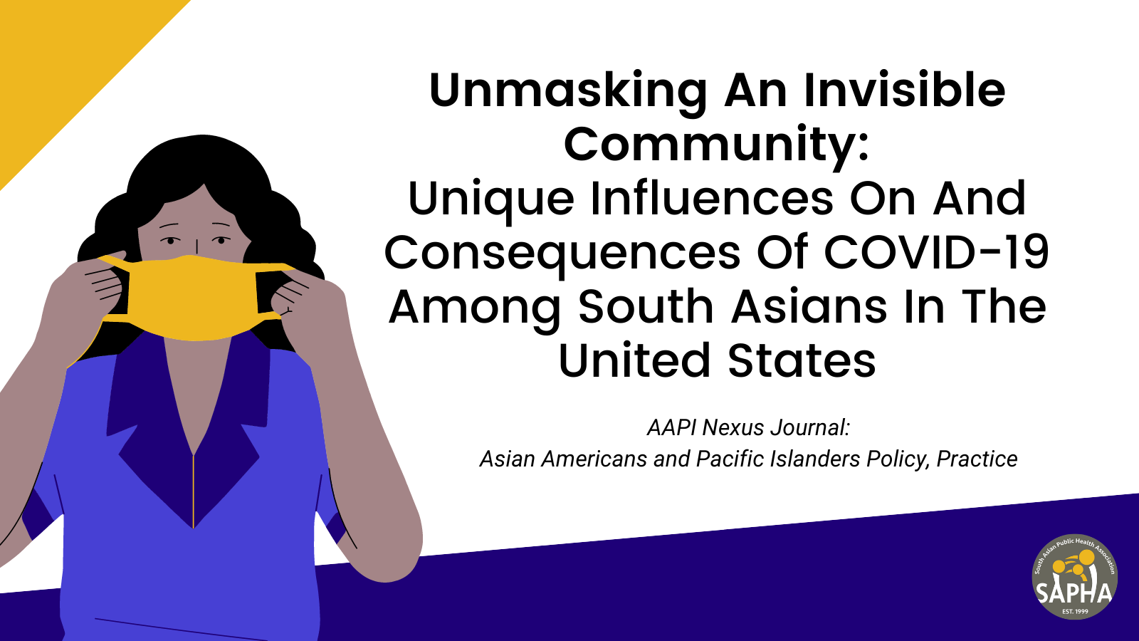 Unmasking an Invisible Community: Unique Influences on and Consequences of COVID-19 among South Asians in the United States
