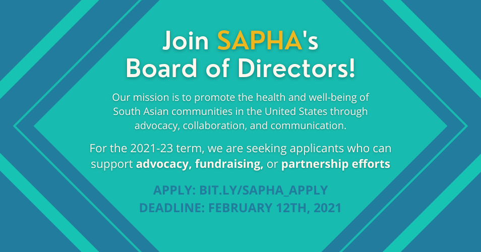 Join SAPHA's Board of Directors!