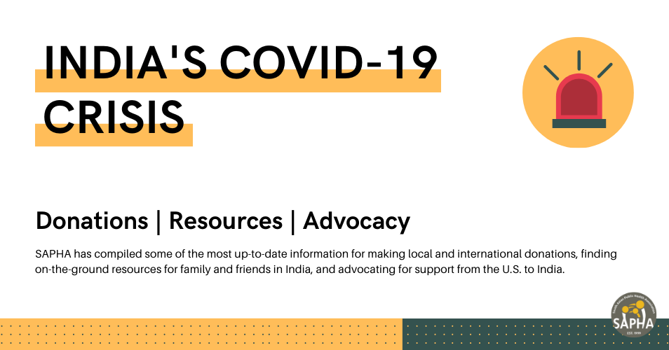 India's COVID-19 Crisis: Donations, Resources, and Advocacy Opportunities